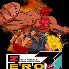 'Street Fighter Ryu Akuma Evil Alpha' by mr-jerichotv Street Fighter Alpha, Long Hoodie, League Of Legends, Art Ideas, Canvas Prints, Photo Canvas Prints, League Legends