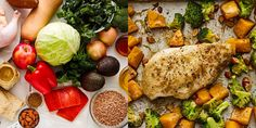 How to Make 7 Healthy Sheet Pan Dinners From 1 Grocery List