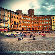 Photo from the Instacanvas gallery for ilaria_agostini. Piazza del Campo, Siena, Tuscany, Italy