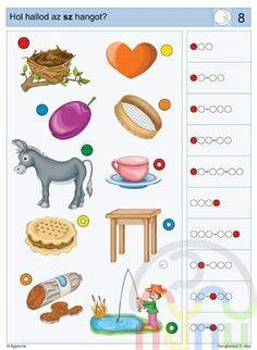 Logico Piccolo - Hangkereső 3. rész Dysgraphia, Dyslexia, Logic Puzzles, Speech Therapy, Free Printables, Homeschool, Kids Rugs, Writing, Education