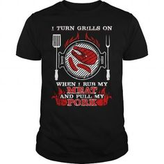 Cool I Turn Grills On T-Shirts