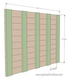 DIY Stenciled Pallet Wood Floor - A Piece Of Rainbow