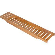 Trademark Innovations Bamboo Bathtub Tray | Wayfair                                                                                                                                                                                 More