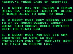 should be applied to both robots and corporations - (the three laws of robotics)(isaac asimov)
