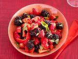 Strawberry Salad With Balsamic-Cardamom Dressing Recipe