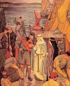 Saxon Princess Margaret who sailed to Scotland to unite the old reigning family of England with the Scottish King Malcolm III through marriage 1068 AD. Ancestress of Marie Queen of Scots. Women In History, Family History, Queen Margaret Of Scotland, Highlands, Scottish English, Mary Queen Of Scots, Scottish Castles, Princess Margaret, Anglo Saxon