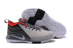c8fa060e1ab Nike Lebron Witness II Grey Black Red Men s Basketball Shoes