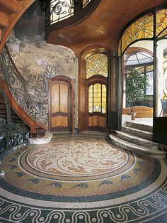 Art Nouveau  #luxurydotcom