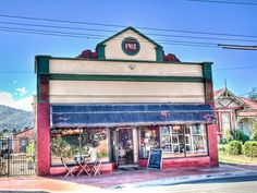 If we go to south, take a turn through Cygnet to the Red Velvet Lounge - cafe, bakery, preserves = goodness Velvet Lounge, Tasmania, Preserves, Red Velvet, This Is Us, Places To Go, Bakery, Spaces, Mansions