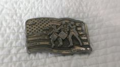 Buckle Bicentennial Handmade 1976 Fathers Day by TheArtisanal, $19.99