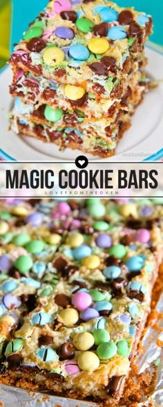 Make your Easter amazing with these Spring Magic Cookie Bars