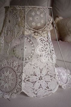 Should cast interesting shadows? More 2019 Doiley lamp shade diy. Should cast interesting shadows? More The post Doiley lamp shade diy. Should cast interesting shadows? More 2019 appeared first on Lace Diy. Doilies Crafts, Lace Doilies, Crochet Doilies, Lampe Crochet, Diy Crochet, Doily Lamp, Lace Lampshade, Vintage Lampshades, Decorate Lampshade