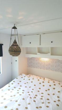 Slaapkamer stacaravan