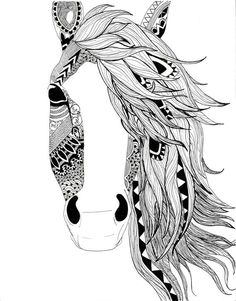 My favorite horse tattoo idea so far... This would look great as the focal point of my half sleeve