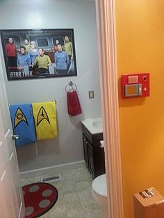 For When You Need To Boldly Go Ha No It S Not My Bathroom