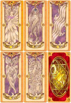 Clow Cards via CardCaptor Sakura created by artist group CLAMP