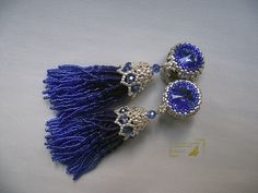 Clips-brush Sapphire | biser.info - all about beads and beaded works