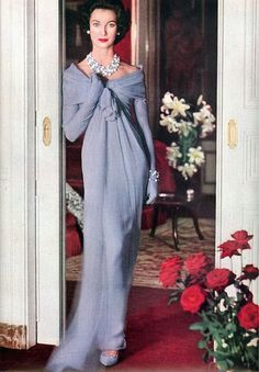"""1963: Tania Mallet (Photo by John French) As Coco Chanel once stated, """"""""Fashion fades, only style remains the same."""" In this set of photographs we look back in time to see how women used to dress, how glamour wasn't just a word mentioned during special occasions but one that symbolized everyday life. Adorned in statement …"""