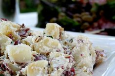 Loaded Potato Salad Recipe from Matilda's Summer Garden Party - The Cottage Mama