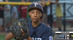 Mo'Ne Davis makes Little League World Series history in three-hit shutout. Aug 2014.  She also has a 70mph pitch.