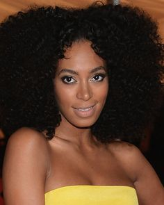 Solange Knowles – Tight Curl – Custom Celebrity Lace Wig