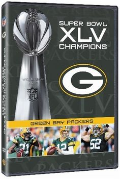 SUPER BOWL XLV CHAMPIONS GREEN BAY PACKERS New DVD