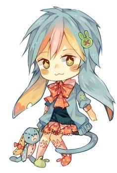 sparkle chibi: Polka-Pot by ruuto-kun.deviantart.com on @deviantART