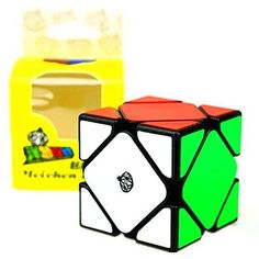 CuberSpeed Cong Design MeiChen Skewb Black Magic cube Moyu Skewb V2 Speed cube