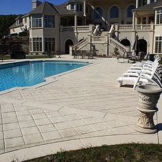how to fix ugly integral colored stamped concrete