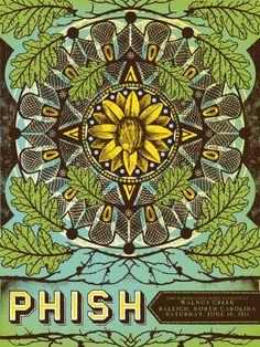 earthy mandala. go phish.