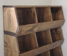 Plans of Woodworking Diy Projects - Design for easy-to-make stackable wood storage bins. people often make nesting boxes for hens this way, too Get A Lifetime Of Project Ideas & Inspiration! Into The Woods, Diy Projects To Try, Home Projects, Project Ideas, Craft Ideas, Playroom Furniture, Diy Furniture, Furniture Plans, Furniture Storage