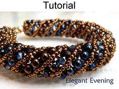 Beading tutoriel modèle Bracelet Collier par SimpleBeadPatterns