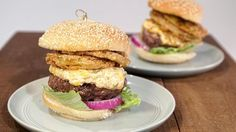 Deep  South  Burgers  with Pimiento