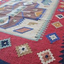 Handgewebt Kelim Kids Rugs, Crochet, Home Decor, Weaving, Decoration Home, Kid Friendly Rugs, Room Decor, Ganchillo, Crocheting