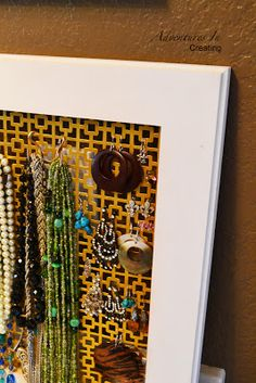 1000 images about hobby lobby diy on pinterest hobby for Hobby lobby jewelry holder