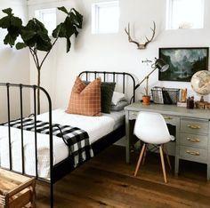little boy bedroom Room Design Bedroom, Room Ideas Bedroom, Bedroom Decor, Cozy Bedroom, Aesthetic Bedroom, Dream Rooms, My New Room, Dorm Room, Room Inspiration