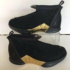"1a8a20276a80c5 (eBay Sponsored) NIKE AIR JORDAN 15 RETRO DB ""DOERNBECHER"" BLACK NO BOX  LID- SZ.11 (BV7107-017). Athletic Shoes"