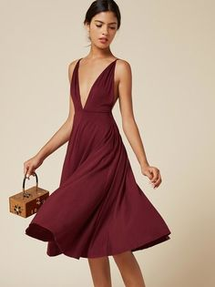 The Naya Dress  https://www.thereformation.com/products/naya-dress-garnet?utm_source=pinterest&utm_medium=organic&utm_campaign=PinterestOwnedPins