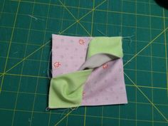 so simple to make. a Bow Tie block. any size you fancy. Quilting Projects, Quilting Designs, Sewing Projects, Origami Quilt Blocks, Charm Square Quilt, Fabric Origami, Scrappy Quilts, Patchwork Quilting, Baby Quilts