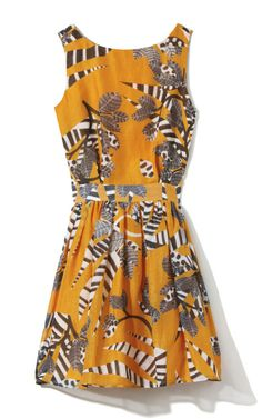 Backless Flared Dress by Thakoon Addition for Preorder on Moda Operandi