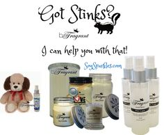 Got stinks? I can help you with that! SoySparkles.com