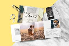 Multipurpose Brochure - Johnny by Typography Prime on @creativemarket