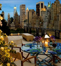 I have always wanted someone to take me on a rooftop dinner date in the city. Lol. Like in the movies.