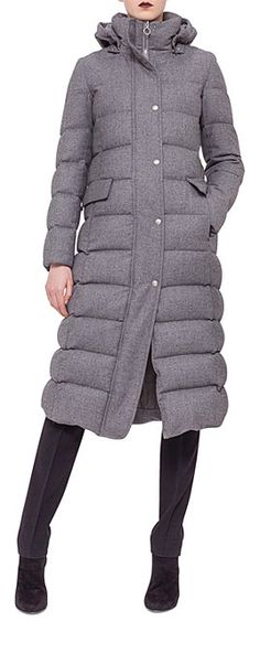 It's About Time for Down Jackets to Have Some Style! See More Chic Puffer Pieces at http://www.lovika.com/20-stylish-down-jackets/ #DownJacket #PufferJacket