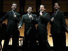 John Lloyd Young Jersey Boys | ... John Lloyd Young, Christian Hoff and J. Robert Spencer in Jersey Boys