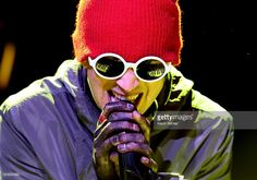 Musician Tyler Joseph of Twenty One Pilots performs onstage during the iHeartRadio Live Series with Twenty One Pilots at the iHeartRadio Theater LA on May 19, 2015 in Burbank, California.