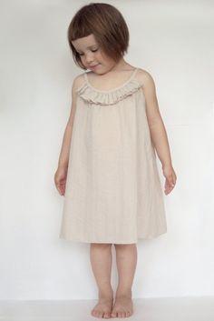 Crinkle cotton dress for girl. von kokokoshop auf Etsy, $34.00
