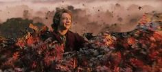 """The Blog of the Hobbit: Hobbit Pictures """"The Desolation of Smaug""""  Bilbo and the black butterflies above Mirkwood"""