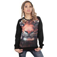ROAR! Awesome tiger shirt! Find it here: http://www.cybershop.fi/product/10761/tiikeri-paita