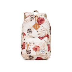 0c9b36f3a6 Herschel Supply Co. Heritage Mid Volume Backpack ( 60) ❤ liked on Polyvore  featuring bags